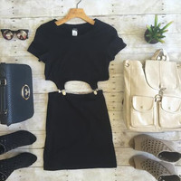 Love Buzz Dress-Black