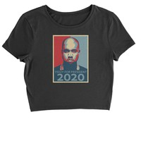 Yeezy For President Cropped T-Shirt