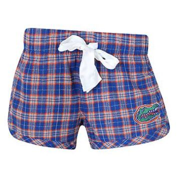 University of Florida Gators Ovation Ladies Flannel Shorts