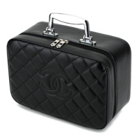 Chanel high - end diamond bag cosmetic case cosmetics box cosmetic bag professional cosmetics collection bag