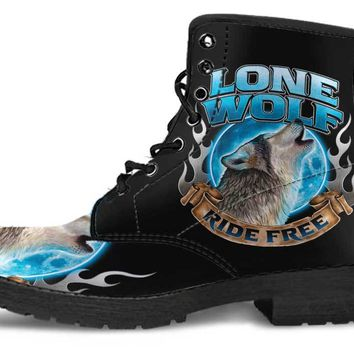 Men's Lone Wolf, Ride Free Boots