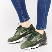 Nike Air Max 90 Carbon Green Sneakers