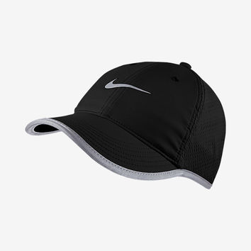 The Nike Knit Mesh Women's Adjustable Running Hat.