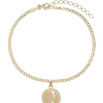 Canadian Coin Anklet