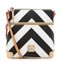 Dooney & Bourke Chevron Print Cross-Body Bag