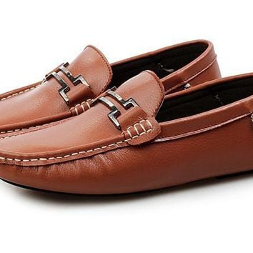 Mens Leisure Loafer Driving Shoes