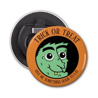Trick or Treat Witch Bottle Opener