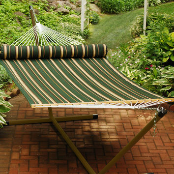 Algoma 2930DL Quilted Reversible 13-Feet Hammock