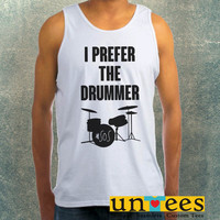 I Prefer The Drummer Ashton Irwin Clothing Tank Top For Mens