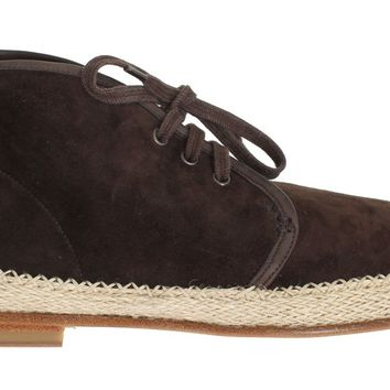 Brown Suede Corrida Chukka Ankle Boots