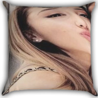 ariana grande Zippered Pillows  Covers 16x16, 18x18, 20x20 Inches
