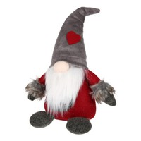 Love Sweden Santa Claus Plush Toy Elf Christmas Gift Gnome Short Wedding Party Holiday Home Accessories Decoration