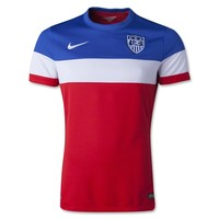USA 2014 Authentic Away Soccer Jersey - WorldSoccerShop.com