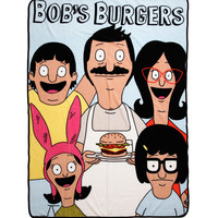 Bob's Burgers Belcher Family Throw Blanket