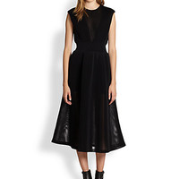 Fliners Dazah Sheer-Paneled Dress