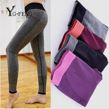 YGFENG Women Casual Leggings Adventure Time Bodybuilding Clothing Quick Drying Slim Elastic Jegging Leggings For Women