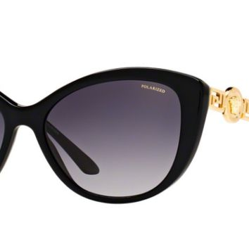 Versace VE 4295 GB1/T3 57 mm Black Grey Gradient Polarized