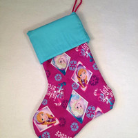 Christmas clearance Sisters Forever Frozen Elsa Anna Christmas stocking