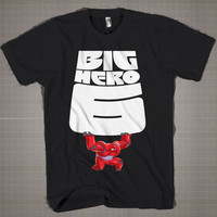 Big Hero 6  Mens and Women T-Shirt Available Color Black And White