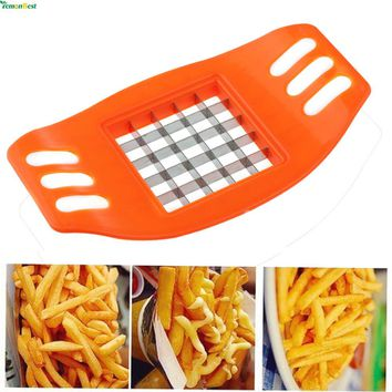 Manual Potato Cutter - Vegetable Fruit Slicer