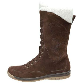 DCCKJG9 Helly Hansen Eir 3 Boot - Women's 8 - Turkish Coffe / Angora / Sperry Gum