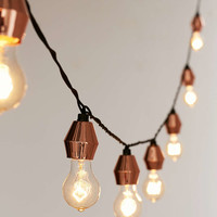 Metal Cap String Lights - Urban Outfitters
