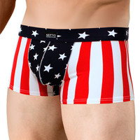 Men's USA Flag Pouch Brief Trunk P