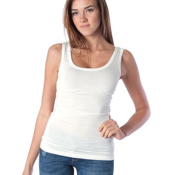 Back To Basic Tank Top - Ivory