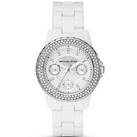 MICHAEL Michael Kors Round White Bracelet Watch, 33mm - Jewelry & Accessories - Bloomingdales.com