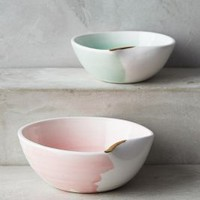 Suite One Studio Mimira Nut Bowls in Pink & Mint Size: Set Of 2 Bowls