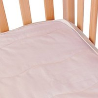 QuickZip Crib Mattress Pad - White