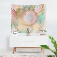 Wall Art Tapestry 'Organic in Pastel'