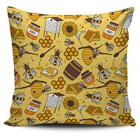 Bee Keeper Pillow Cover