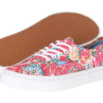 Vans Authentic™ Slim (Multi Floral) True White - Zappos.com Free Shipping BOTH Ways