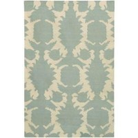 Thomas Paul Rugs Flock Dhurrie in Dove and Cream - Rugs - Rugs & Floor - Category