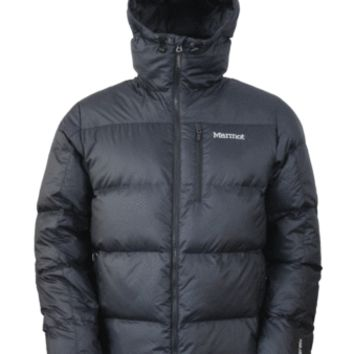 Marmot Mens Jacket Guides Down Hoody Black