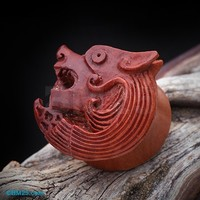 Battle Hound Organic Sabo Wood Ear Gauge Plug
