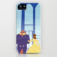 Belle & Beast iPhone & iPod Case by Jessica Slater Design & Illustration