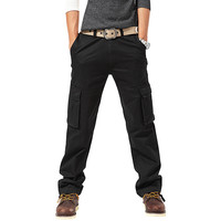 Plain Loose Field Military Uniform Pants