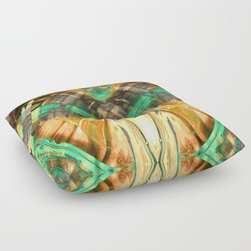 GOLDEN OZ Floor Pillow by Pia Schneider