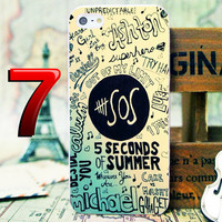 5SOS unpredictable Phone Case For iPhone 4 4s 5 5s 5c iPod 2 iPod 4 iPod 5 Samsung Galaxy  s3/s4/s5