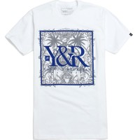 Young & Reckless City Of Aloha T-Shirt - Mens Tee - White