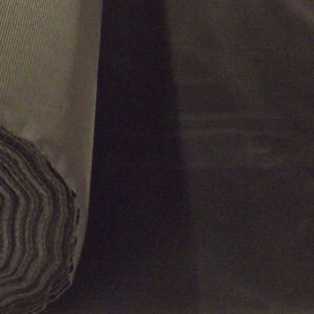 Discount Black Flocked Velvet Fabric for Upholstery Craft Curtain Drapery Material Sold Per Yard 54 inch W   Black Flocked Velvet   Flocking