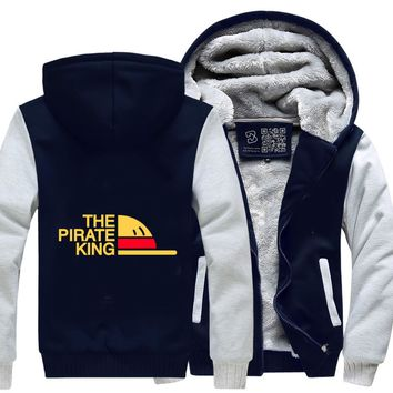 The Pirate King, One Piece Fleece Jacket