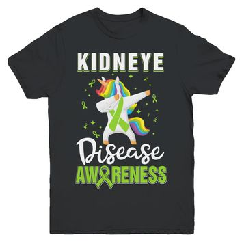 Inspirational Kidney Disease Awareness Unicorn Support Youth
