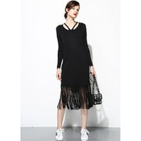 Fringe It Up Dress