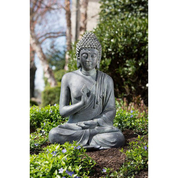Alfresco Home Thai Buddha Garden Statue