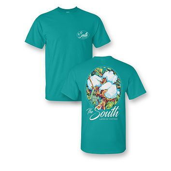 Sassy Frass The South Land of Cotton Girlie Bright T Shirt