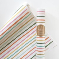 Happy Stripe Wrapping Sheets by RIFLE PAPER Co. | Made in USA