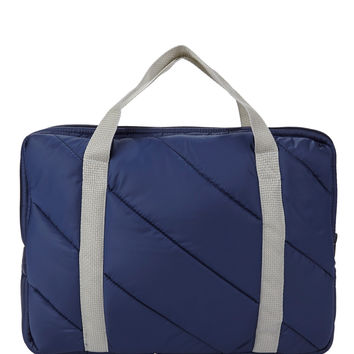 Quilted Laptop Bag   American Apparel